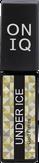 ONIQ Under Ice Гель-лак для ногтей, цвет Gold Flakes