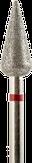 Владмива Фреза алмазная конус, D5,0 мм, красная, мелкая зернистость 806.266.514.050