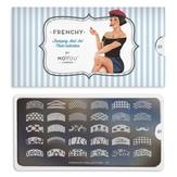 MoYou London Пластина для стемпинга Frenchy 01