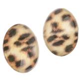 Irisk Декоративные элементы для декупажа броши, цвет Леопард