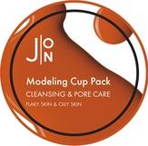 J:ON Cleansing & Pore Care Modeling Pack Альгинатная маска для лица очищение/сужение пор 18 гр