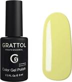 Grattol Гель-лак №125 Light Yellow