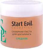 "Start Epil Сахарная паста для депиляции ""Средняя"", 400 гр. 2021"