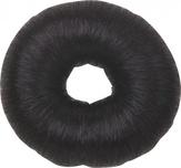 Dewal Валик для прически, искусственный волос, черный d8 см.