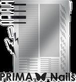 Prima Nails Металлизированные наклейки GM-05, Серебро