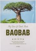 A'Pieu My Skin -Fit Sheet Mask Baobab Тканевая маска для лица с экстратом баобаба