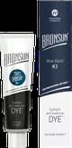 Bronsun Краска для бровей и ресниц №3, цвет иссиня-черный 15 мл.