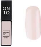 ONIQ Гель-лак для ногтей PANTONE 011s, цвет Powder Puff OGP-011s