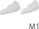 Novel Силиконовые накладки для ламинирования, размер M1