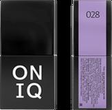 ONIQ Гель-лак для ногтей PANTONE 028, цвет Orchid bloom OGP-028
