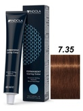 Indola Natural&Essentials 7.35 Крем-краска Средний русый золотистый махагон 60мл