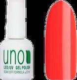 UNO Гель-лак 170 Оранжевый неоновый - Orange Neon, 12 мл.