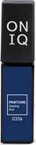 ONIQ Гель-лак для ногтей PANTONE 033s, цвет Dazzling blue OGP-033s