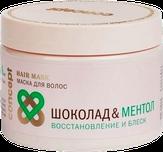 Concept Маска для волос Шоколад и Ментол Восстановление и блеск 350 мл.