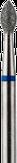 Владмива Фреза алмазная пламя, D2,7 мм. синяя, средняя зернистость 806.257.524.027