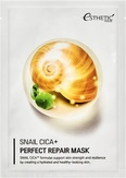 Esthetic House Snail Cica+ Perfect Repair Mask Тканевая маска для лица с муцином улитки 25 мл