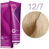 Londa Color Стойкая крем-краска 12/7 специальный блонд коричневый 60 мл.