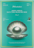 JMsolution Marine Luminous Black Pearl Balancing Mask Трёхшаговый набор для сияния кожи