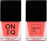 ONIQ Лак для ногтей с эффектом геля PANTONE Coral ONP-309