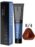 Estel Professional De Luxe Стойкая крем-краска 8/4, 60 мл.
