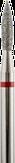 Владмива Фреза алмазная пламя, D2,1 мм. красная, мягкая зернистость 806.243.514.021