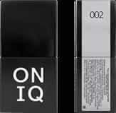 ONIQ Гель-лак для ногтей PANTONE 002, цвет Glacier grey OGP-002