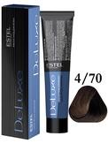 Estel Professional De Luxe Стойкая крем-краска 4/70, 60 мл.