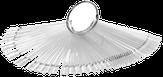 Irisk Дисплей-веер прозрачный, 50 шт