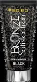 Soleo Black Satisfaction Total Крем для солярия с бронзатором с питательным маслом макадамии 150 мл