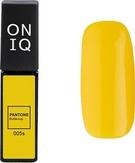 ONIQ Гель-лак для ногтей PANTONE 005s, цвет Buttercup OGP-005s