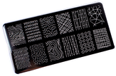 ONIQ Пластина для стемпинга Echo: Line Art #1