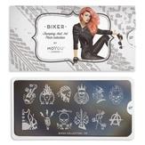 MoYou London Пластина для стемпинга Biker 07