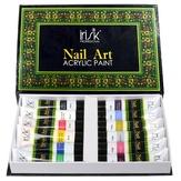 Irisk Набор акриловых красок для 3D-эффектов и китайской росписи 12 цв. 20 мл.