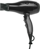 Dewal Фен для волос ProfileCompact черный 2000W ионизация 2 насадки