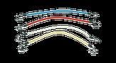 EuroStil Резинка с крючками цветная 1 шт.