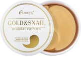 Esthetic House Gold&Snail Hydrogel Eye Patch Гидрогелевые патчи для глаз золото/улитка  60 шт