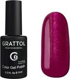 Grattol Гель-лак №086 Glossy Crimson