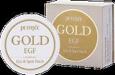 Petitfee Гидрогелевые антивозрастные патчи от морщин вокруг глаз 60 шт. Gold EGF Eye & Spot Patch