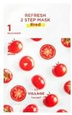 Village 11 Factory Освежающая программа для лица с красными экстрактами (пенка-скраб+тканевая маска)