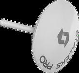 Сталекс Диск педикюрный зонтик PODODISC EXPERT S в комплекте со сменным файлом-кольцом 180 грит 5шт (15 мм)