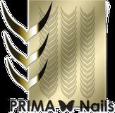 Prima Nails Металлизированные наклейки CL-004, Золото