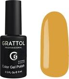 Grattol Гель-лак №183  Yellow Orange