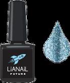 """Lianail Гель-лак с эффектом жидкой фольги """"Blue Flash"""", 10 мл."""