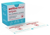 MILV Влажные антибактериальные салфетки. 30 шт.