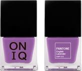 ONIQ Лак для ногтей с эффектом геля PANTONE English Lavender ONP-315