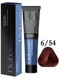 Estel Professional De Luxe Стойкая крем-краска 6/54, 60 мл.