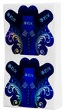 Irisk Формы голографические, синие, 100 шт.