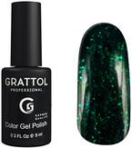 Grattol Luxury Stones Emerald Гель-лак №1 9 мл