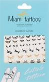 "Miami Tattoos Флэш тату для пальцев и ногтей ""Romantic Nature"""