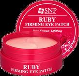 SNP Ruby Aqua Eye Patch Гидрогелевые патчи для области вокруг глаз с экстрактом пудры рубина 60 шт.